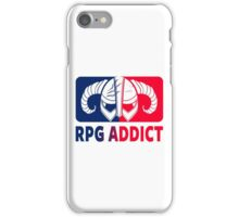 RPG Addict iPhone Case/Skin