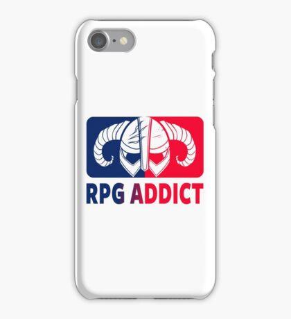 RPG Addict iPhone Case/Skin