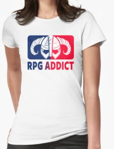 RPG Addict Womens Fitted T-Shirt