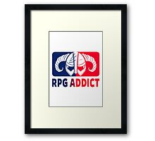RPG Addict Framed Print