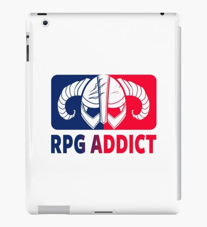 RPG Addict iPad Case/Skin