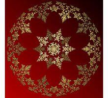 Christmas Ball Photographic Print