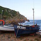 Boats at Penberth by kimberly89