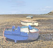 Boats in a Row by Kelvin Hughes