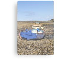 Boats in a Row Canvas Print