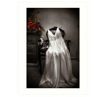 The Wedding Dress Art Print