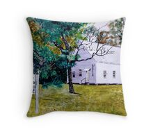 Providence Baptist Church 1874 Throw Pillow