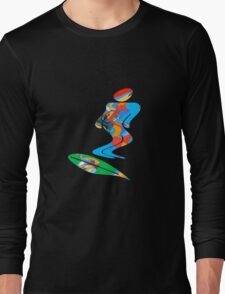 Skateboarder T-Shirt Long Sleeve T-Shirt