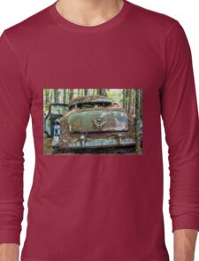 Old Caddy from Rear Long Sleeve T-Shirt