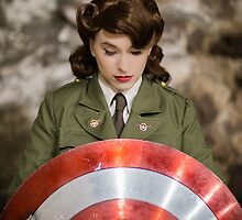 Tanya Wheelock as Peggy Carter (Photography by Steven Sze) by mostdecentthing