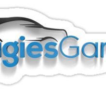 Hoagies Garage Logo Sticker