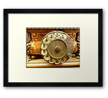 Compose your number! Framed Print
