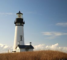 Yaquina Head Lighthouse, Newport,Oregon USA by Jennifer Hulbert-Hortman
