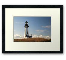 Yaquina Head Lighthouse, Newport,Oregon USA Framed Print