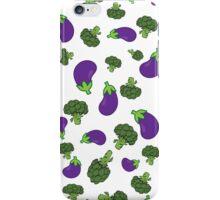 Broccoli Vs Aubergine - TYWG iPhone Case/Skin