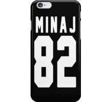 Nicki Minaj Jersey Backnumber iPhone Case/Skin