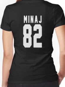 Nicki Minaj Jersey Backnumber Women's Fitted V-Neck T-Shirt
