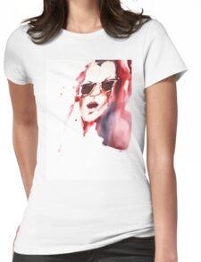 Hot summer Womens Fitted T-Shirt