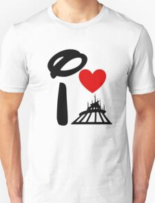 I Heart Space Mountain Unisex T-Shirt