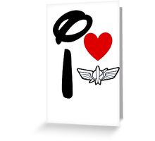 I Heart Star Command (Inverted) Greeting Card
