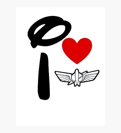 I Heart Star Command Photographic Print