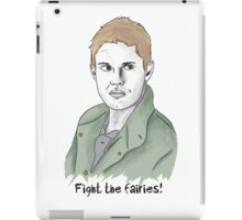 Dean Winchester: Fight the Fairies! iPad Case/Skin