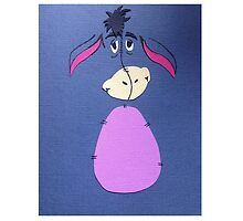Eeyore Hand Made Illustration by Lucy Colgan Haugh