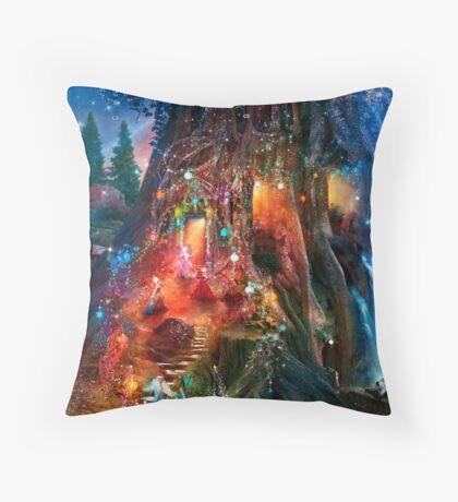 The Foxglove Ball Throw Pillow