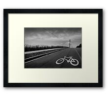The Bicycle Thief Framed Print
