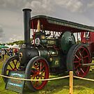 The Traction Engine by Jamie  Green