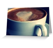 Coffee Club Greeting Card