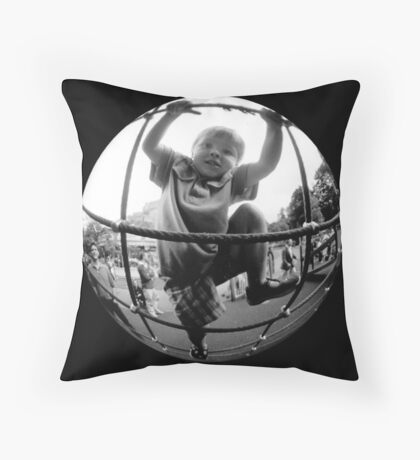 Anabatic Alex Throw Pillow
