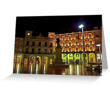 Plaza Mayor BURGOS Greeting Card