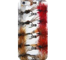 Hand-Tied Flies for Flyfishing iPhone Case/Skin