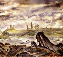Dunstanburgh Castle by Colin Cartwright
