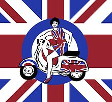 Mod Girl by Auslandesign