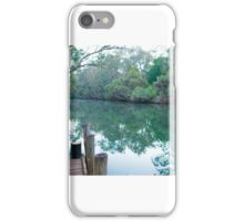 Murray River from the Church Jetty iPhone Case/Skin