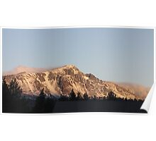 Mt. Tallac zoom Poster