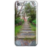 Steps leading to the Pinjarra Church iPhone Case/Skin