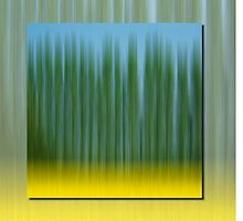 Abstract Oilseed Rape Field by Pixie Copley LRPS
