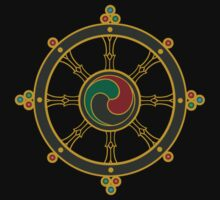 Buddhist Wheel of Dharma T-Shirt