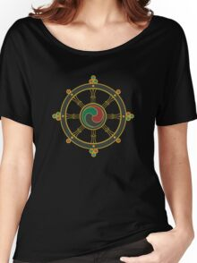 Buddhist Wheel of Dharma Women's Relaxed Fit T-Shirt