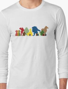 Beauty and the Beast Crew Long Sleeve T-Shirt
