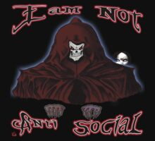 GRIM REAPER AND SIDE KICK/ I AM NOT ANTI-SOCIAL by roadie