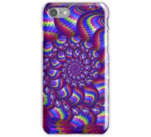 Blue balls Fractal Art iPhone Case/Skin