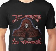 GRIM REAPER AND SIDE KICK/ I LIKE TO WATCH Unisex T-Shirt