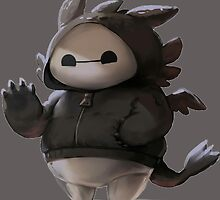 Baymax like as toothless the dragons by GembosDesignArt