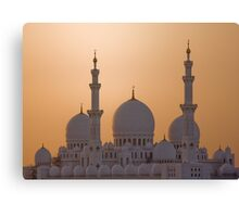 The White Domes Canvas Print