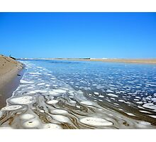 WHERE SALTWATER MEETS THE FRESHWATER Photographic Print