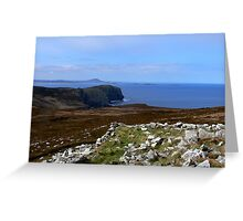 Horn Head, Donegal, Ireland Greeting Card